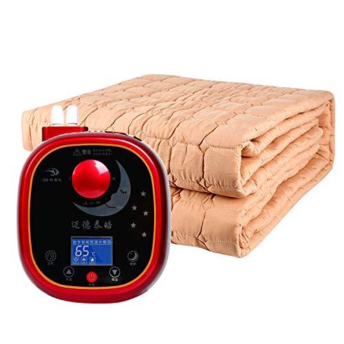 2019激安通販 DWLINA の高品質の非放射の配管の毛布、一定した温度の単一の二重多人洗える配管の毛布,Khaki+Smart,1.8 B07K57K9PZ*2M DWLINA B07K57K9PZ, タウンランド Townland:bf4b7777 --- arianechie.dominiotemporario.com