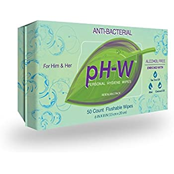 Amazon Com Ph W Personal Hygiene Wipes The First Natural