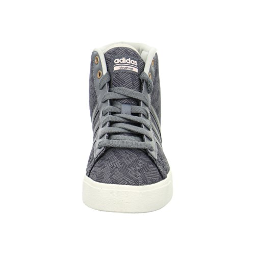 adidas Cf Daily Qt Mid W, Zapatillas de Deporte para Mujer Gris (Gricua / Gricua / Roshel)