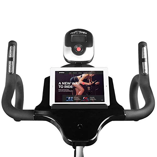 L NOW Indoor Cycling Bike Stationary Exercise Bike Quiet and Smooth with Tablet Holder (D6001) by L NOW (Image #2)