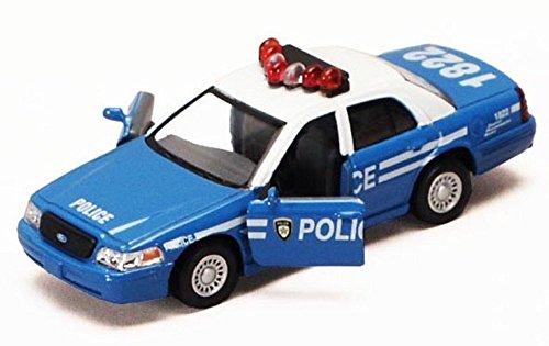 Kinsmart Ford Crown Victoria Police Dept Squad Car 1/43 O Scale Diecast Interceptor by Kinsmart