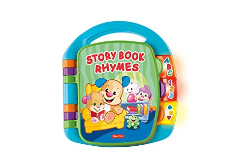 41jY3j1Cn6L - Fisher-Price Laugh & Learn Storybook Rhymes Book