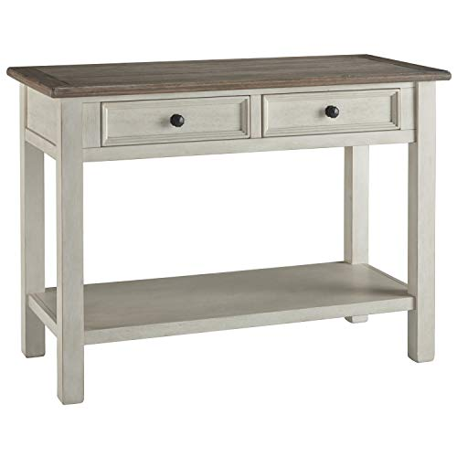 Signature Design by Ashley T637-4 Ashley Furniture Signature Design-Bolanburg Sofaside Sofa/Console Table, Two-Tone