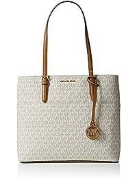 Women's Large Bedford Pocket Signature Tote Leather Shoulder Bag