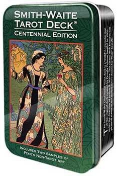 Party Games Accessories Halloween Séance Tarot Cards Smith-Waite Centennial by AzureGreen