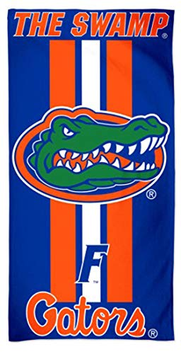 WinCraft Florida Gators Beach/Dorm Towel, The Swamp Gameday Stripes Edition, 30 x 60 inches
