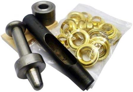 16 mm Semi-Pro-it-Yourself laiton Kit pour /œillets Taille 5