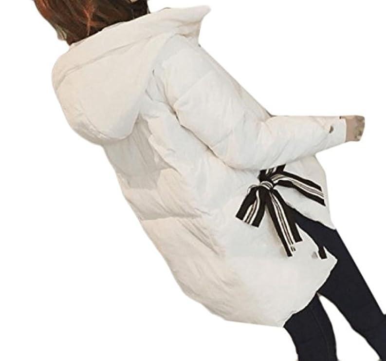 In Imbottiti Vestiti Snowsuit Plus Baggy Hood Bow Cotone Size Abetteric Women Casual WzTa4qwn6