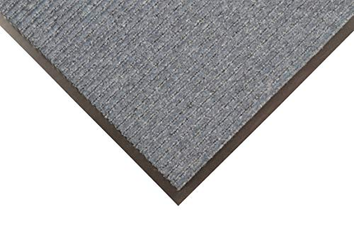 Notrax 109 Brush Step Entrance Mat, for Home or Office, 4' X 6' Slate Blue ()