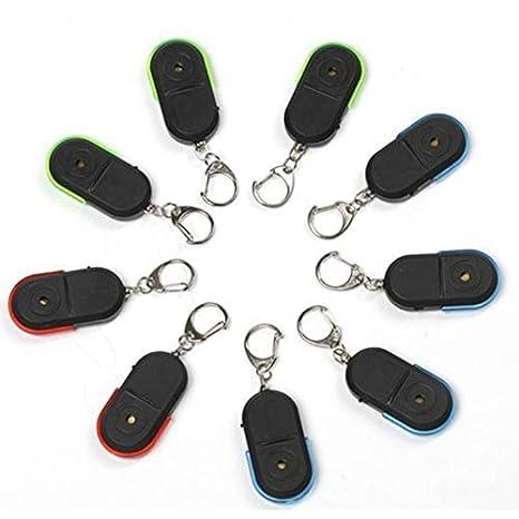 Whistle Sound LED Localizador de localizador de claves ...