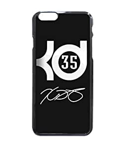 TATATO iPhone 6 Case, Kevin Durant Logo Signature Hard Case Back For iPhone 6 - 4.7 inch
