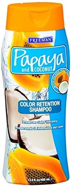 Freeman Papaya and Coconut Color Retention Shampoo 13.50 oz