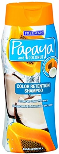 Freeman Papaya and Coconut Color Retention Shampoo 13.50 (Freeman Papaya)