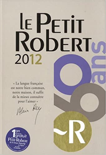 Dictionnaire Le Grand Robert Collins 2012