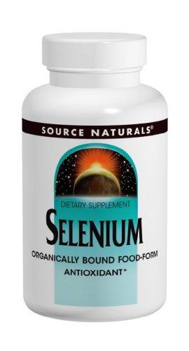 Source Naturals sélénium, 200mcg, 60 comprimés (lot de 2)