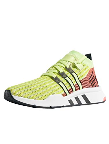 Adv Support 46 Black Mid Pk EQT Adidas Shoes Size Yellow Pink WxOqWnI4wv