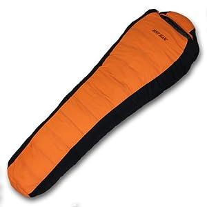 MONT BLANC 高級ダウン寝袋 全3色 マミー型 シュラフ スリーピングバック 最低使用温度-25度