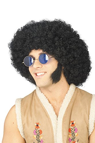 (Forum Novelties 54868 Mutton Chops Sideburns Biker Facial Hair Hippie Halloween Costume Accessory, One)