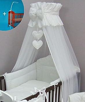 Herz Baby Baldachin Moskitonetz 480 cm für Kinderbett Baldachin Halter