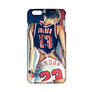 Evil-Store Jordan 23 sexy lady 3D Phone Case For Iphone 6 Plus (5.5 Inch) Cover