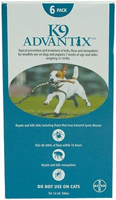 Advantix Flea And Tick Control For Dogs 10-22 Lbs 6 Month Supply, My Pet Supplies