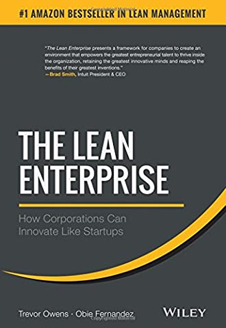 The Lean Enterprise: How Corporations Can Innovate Like Startups (Lean Start Up Book)