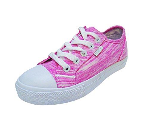 Baby Phat Stan Heather Womens Fashion Sneaker (6.5, Fuchsia)