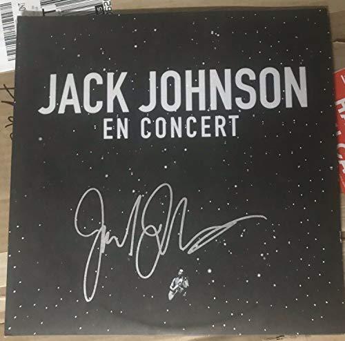 Jack Johnson Autographed Signed Album Lp JSA Autograph En Concert Live Vinyl Record
