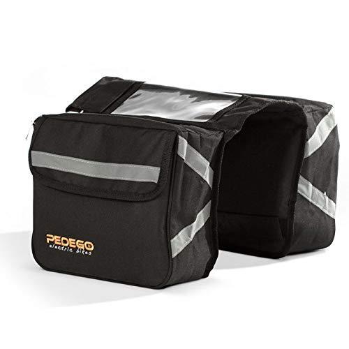 Pedego Black Rear Pannier Bag