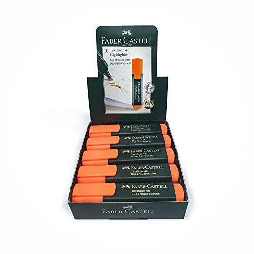 Faber-Castell Lápiz fluorescente, color Naranja
