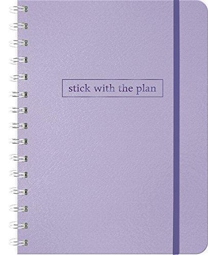2019 Pastel Purple Weekly Note Planner