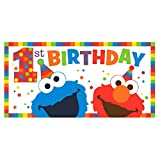 Sesame Street Elmo Turns One Horizontal Giant Sign Banner