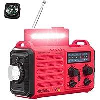 $39 » Emergency Solar Hand Crank Portable NOAA Weather Alert Radio for Household Outdoor…