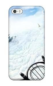 LeeJUngHyun Iphone 5/5s Well-designed Hard Case Cover Animal Bird Blazblue Blondeboots Cloudsnoel Vermillion Scenic Sky Thighhighs Tsukikanade Protector
