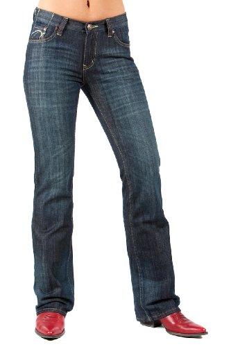 Lawman Western Jeans (Petrol Jeans - Aden (Size 0 x 34L))