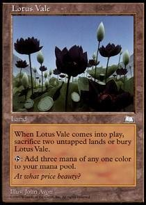Magic: the Gathering - Lotus Vale - Weatherlight