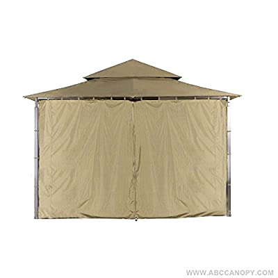 ABCCANOPY Replacement Gazebo Privacy wall for Target Madaga Gazebo