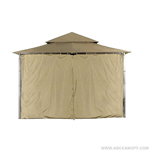 ABCCANOPY Replacement Gazebo Privacy wall for Target Madaga Gazebo (Beige Gazebo)