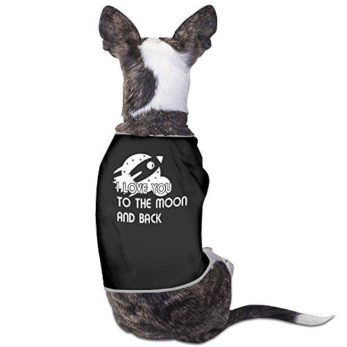 LeeRa I Love You To The Moon And Back Dog (North Carolina Halloween Costumes)
