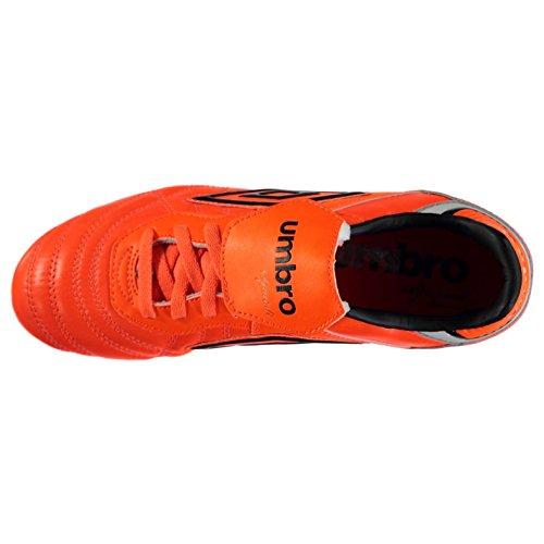 Umbro Speciali Eternal Premier SG Herren Fußballschuhe Fußball Stollenschuhe Orange/Schwarz