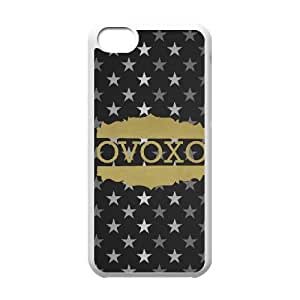 Drake Ovo Owl iPhone 5c Cell Phone Case-White L4042764