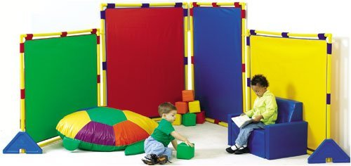 Children's Factory Big Screen Rainbow Panel Set by Children's Factory