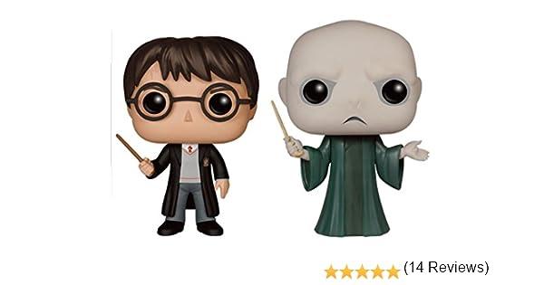 Funko - Figurine Harry Potter - 2 Pack Harry & Voldemort Pop 10cm - 0889698120005: Amazon.es: Juguetes y juegos