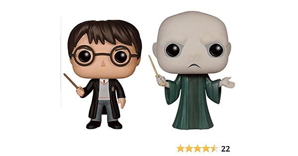 Funko - Figurine Harry Potter - 2 Pack Harry & Voldemort Pop 10cm - 0889698120005
