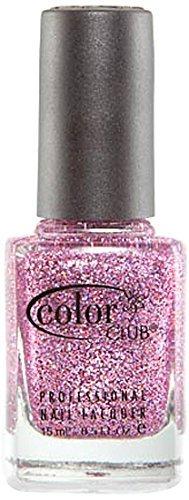 Color Club Mistletoe Glitters Nail Polish, Peppermint, Ca...