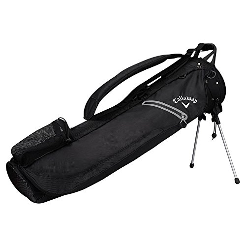 Callaway Golf Hyper Lite 1 Plus Pencil Bag 2017 Hyper-Lite 1 Single Strap Sunday Bag Black Golf Pencil Bags