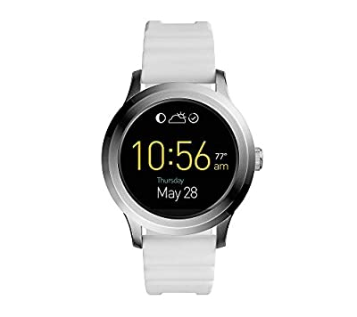 Fossil Q Founder 2.0 Touchscreen Silicone Smartwatch