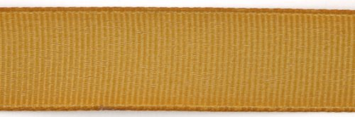 Kel-Toy Polyester Grosgrain Ribbon, 5/8-Inch by 25-Yard, Antique Gold