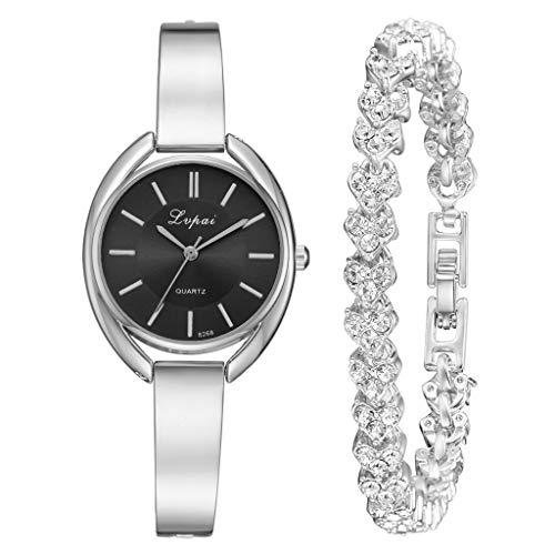 Rishine Women Watch Fashion Watch Luxury Stainless Steel Watch Quartz Watch