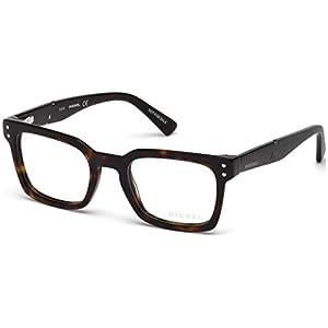 Diesel DL5229 Eyeglass Frames - Dark Havana Frame, 50 mm Lens Diameter DL522950052